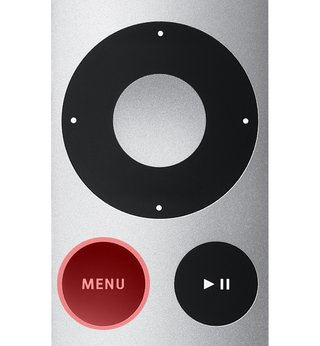Apple TV Home Button