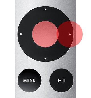 Apple TV mit Fernbedienung koppeln