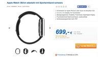 Trotz Exklusiv-Vertrieb: Deutsche Händler verkaufen Apple Watch