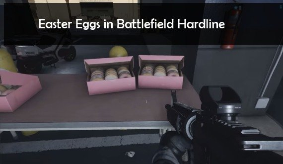 Battlefield Hardline: Easter Eggs - Sofa, Dead Space, Call Of Duty