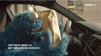 BMW Werbung 2015 im Video: Kekse, Krümelmonster, Concierge