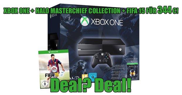 Mega-Deal: Xbox One + Halo + FIFA 15 für unschlagbare 344€!