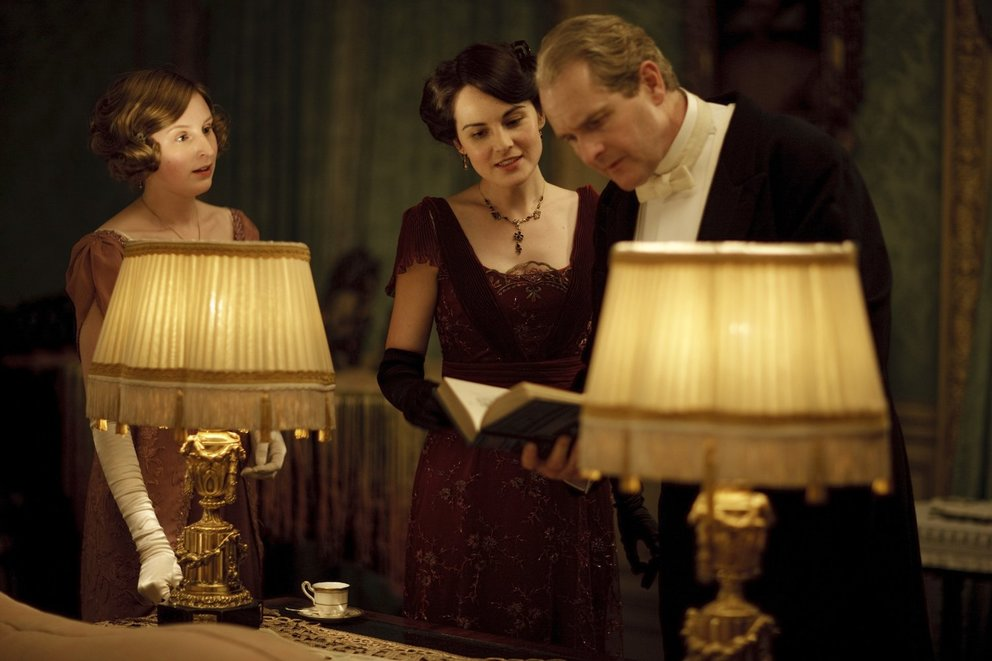 Downton Abbey Szene