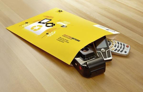 Kleine Altgeräte könnt ihr per Brief kostenlos durch die Post entsorgen lassen. Bildquelle: Deutsche Post
