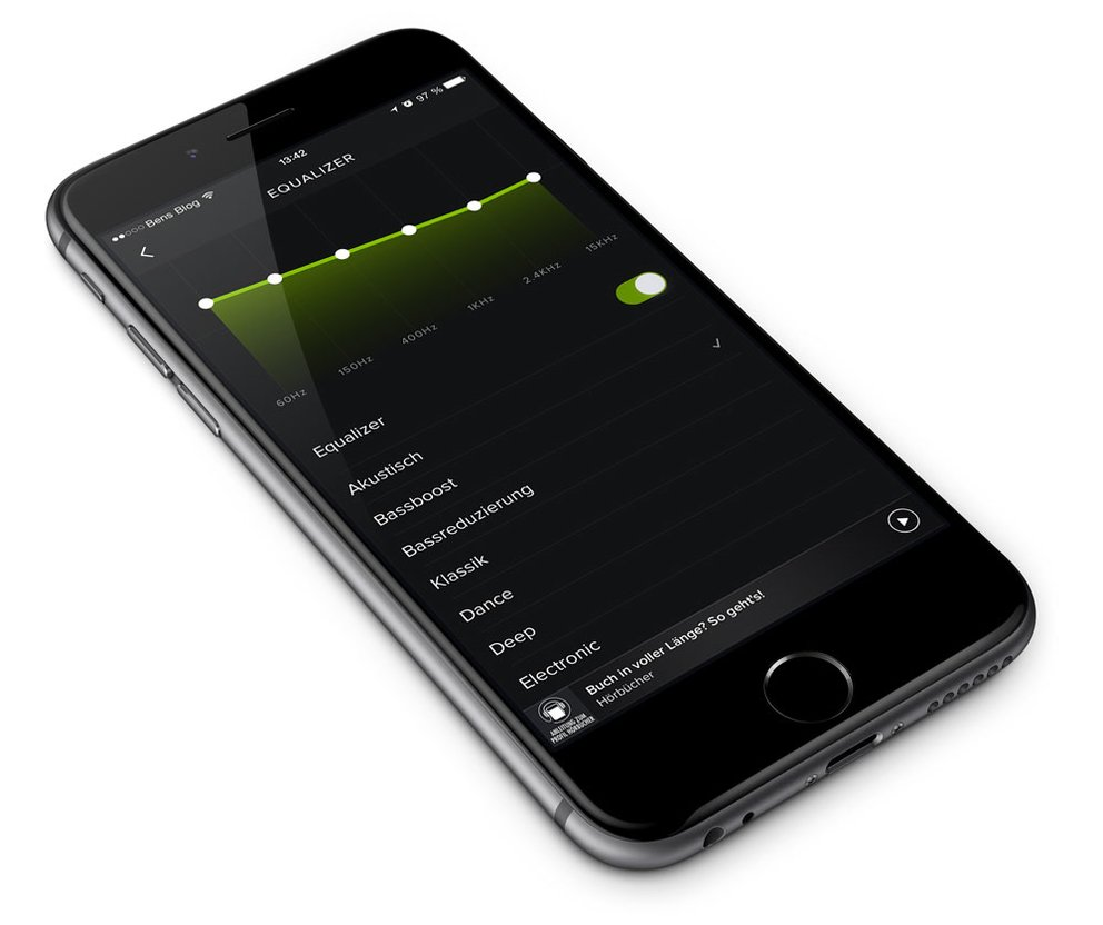 Spotify Equalizer iPhone