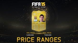 FIFA 15 Ultimate Team: Preisspannen eingeführt - Neue Regeln auf Transfermarkt