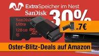 Oster-Blitz: 30% auf SanDisk, hunderte von weiteren Angeboten zum Bestpreis + Amazon Fire TV Stick ab 7 Euro!!!