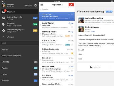 Gmail für iOS: Version 4.0 bringt neue Funktionen