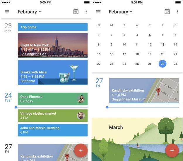 Google Calendar: iOS-App jetzt erhältlich