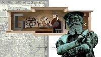 Gerhard Mercator: Google Doodle zum 503. Geburtstag