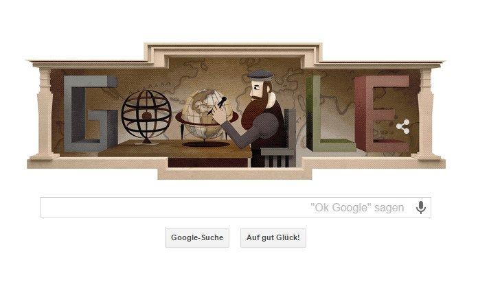 google doodle mercator