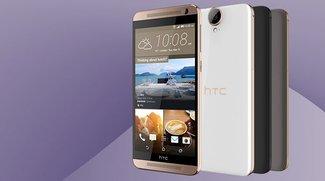 HTC One E9+: Kunststoff-Smartphone mit WQHD-Display offiziell vorgestellt – für China