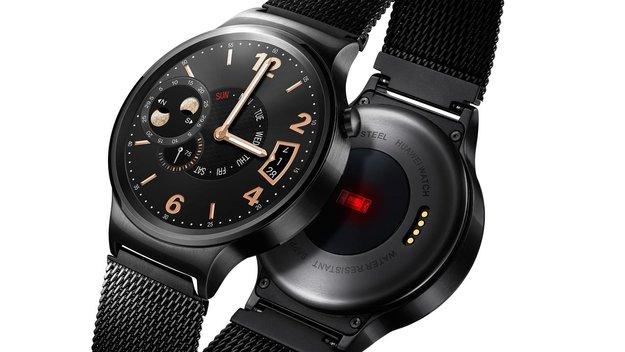 Huawei Watch: Android Wear-Smartwatch mit Edelstahlgehäuse und Saphirglas [MWC 2015]