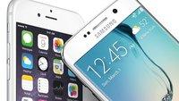 Samsung Galaxy S6 und iPhone 6 im Vergleich (inkl. 6 Plus und S6 Edge)