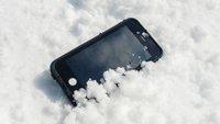 """iPhone schaltet sich bei Minusgraden aus: So geht es bei """"Kältestarre"""" wieder an"""