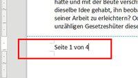 LibreOffice: Seitenzahlen einfügen – So geht's