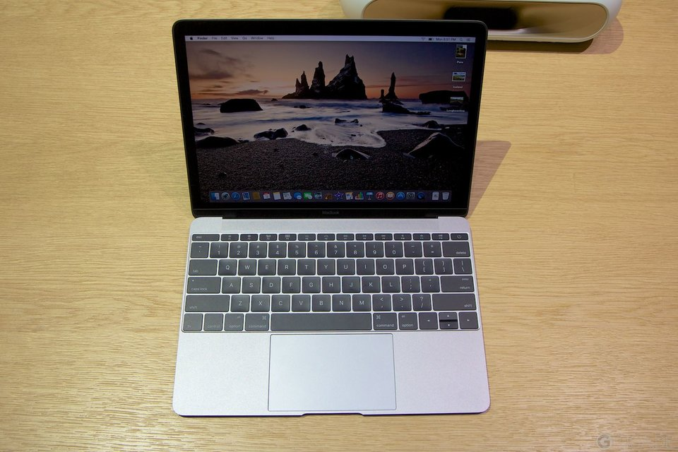 Apple MacBook 2015 - Spacegrau