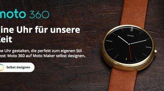 Moto 360: Smartwatch ab sofort per Moto Maker optisch konfigurierbar