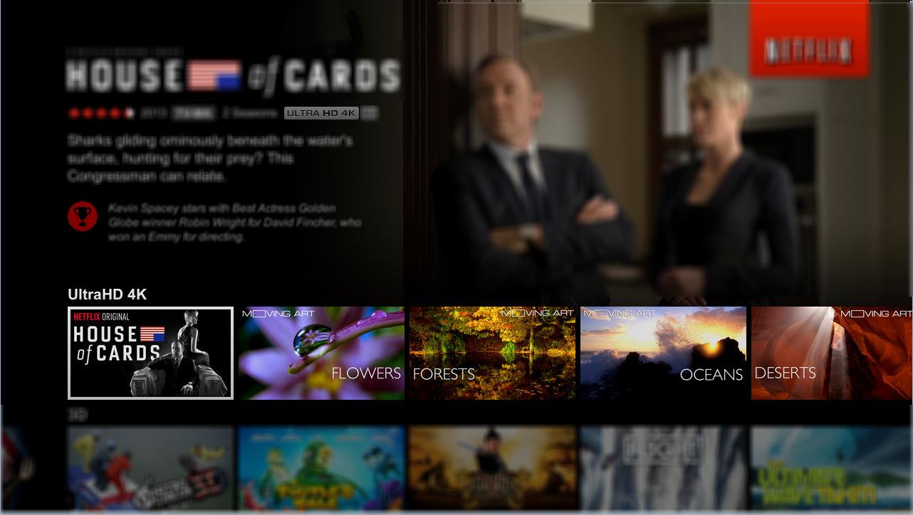 Netflix 4k Serien