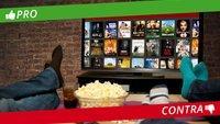 Pro & Contra: Netflix & Co vs. Video-Verleih