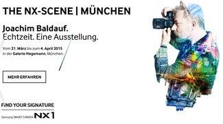 """NX Scene: Ticket-Verlosung zu Joachim Baldaufs """"Echtzeit""""-Vernissage in München"""