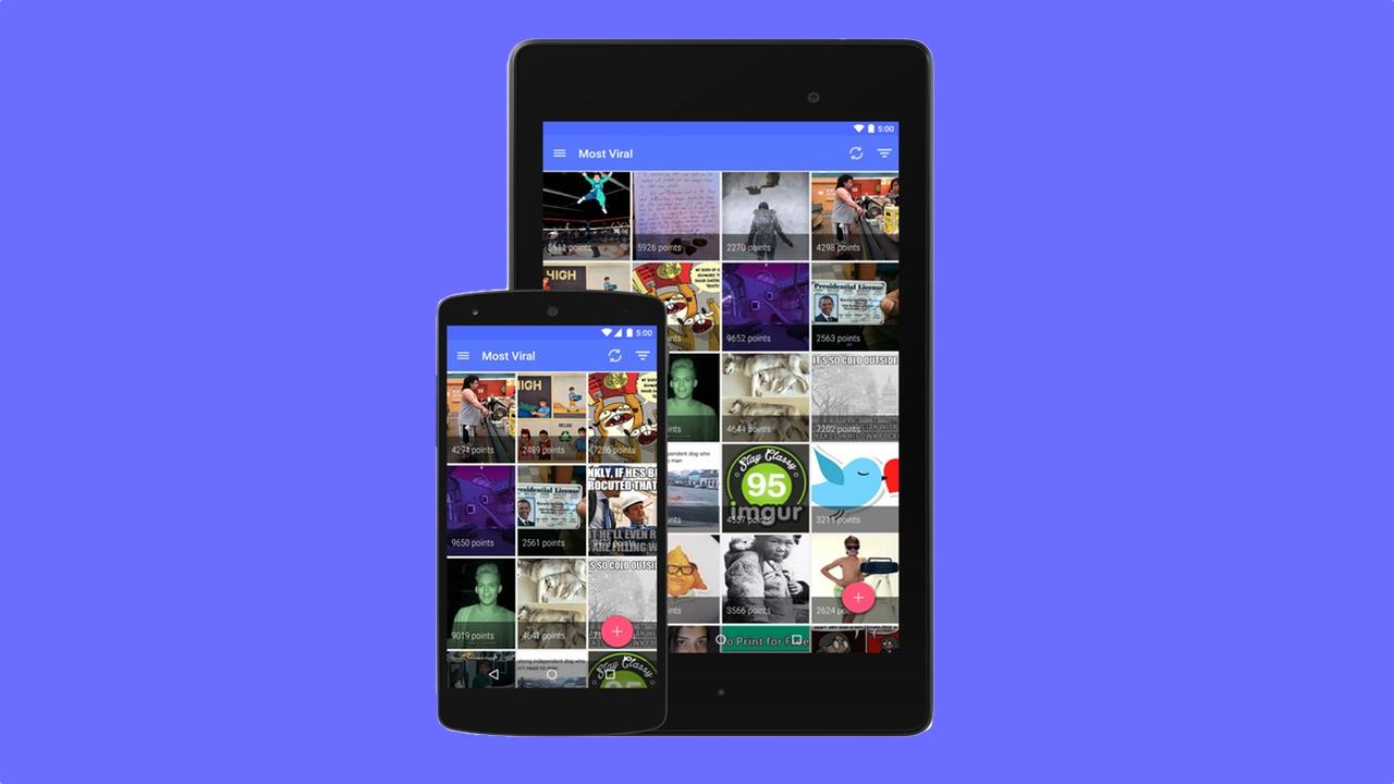 Open Imgur: Android-Client für Fotodienst mit Material ...