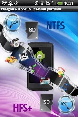 App Paragon NTFS & HFS+
