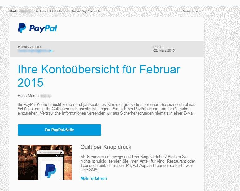 Paypal Konto Anmelden