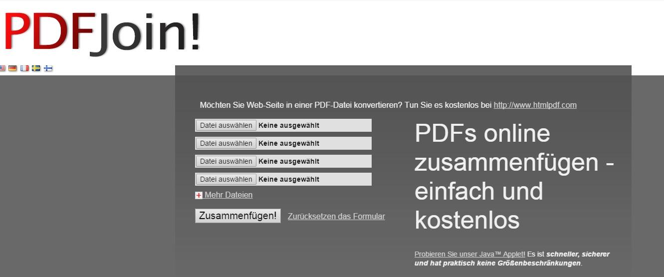 Pdf Dateien Verbinden Freeware
