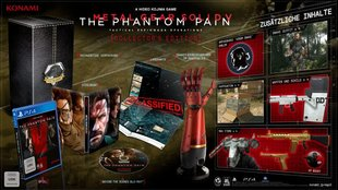 Metal Gear Solid 5 - The Phantom Pain: Collector's Edition vorgestellt