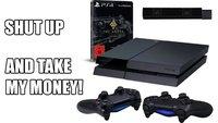 Fetter Games-Deal: PlayStation 4 + The Order: 1886 + 2 Controller + Kamera für 449€