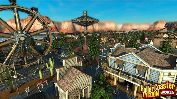 RollerCoaster Tycoon World: Erster Gameplay-Trailer veröffentlicht