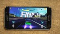 Samsung Galaxy S6 im Gameplay-Video