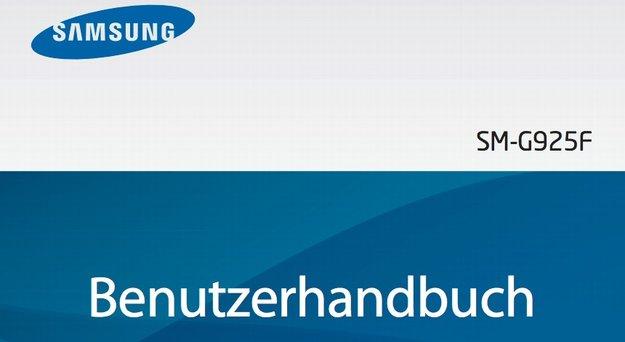 Samsung Galaxy S6 und S6 Edge: Bedienungsanleitungen auf Deutsch verfügbar [PDF-Download]