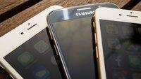 iPhone 6 und Samsung Galaxy S6 im Bilder-Vergleich