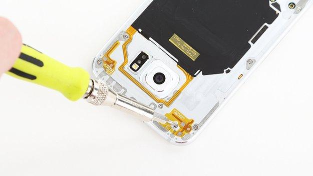 Samsung Galaxy S6 im Teardown: Akkutausch enorm aufwendig