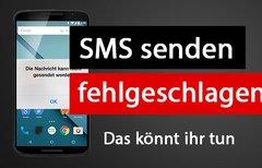 SMS kommen nicht an oder...