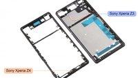 Sony Xperia Z4: Mutmaßliche Bauteile deuten schlanke Bauform an; kein microSD-Slot