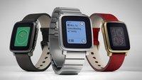 Pebble Time Steel: Alternative zur Apple Watch Edition vorgestellt
