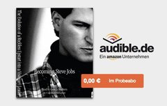 """Becoming Steve Jobs"" Biografie als kostenloses Hörbuch"