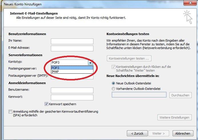 T Online Mailadresse In Outlook Einrichten So Geht S Giga