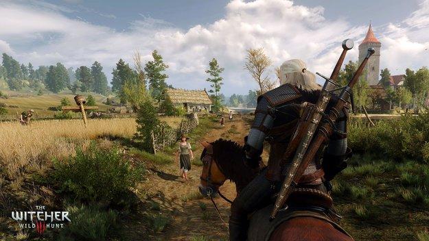 The Witcher 3: Gameplay-Footage zeigt die Schönheit des Rollenspiel-Hits