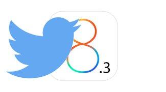 iOS 8.3-Beta ohne Twitter-Integration