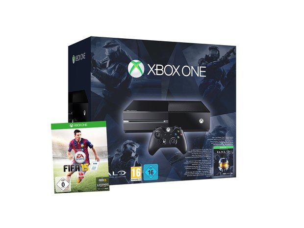 Game-Deals des Tages: Fettes Xbox-One-Bundle mit Fifa 15 und Halo Master Chief Collection