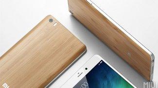 Xiaomi Mi Note: Hochwertige Variante mit Bambusrückseite vorgestellt