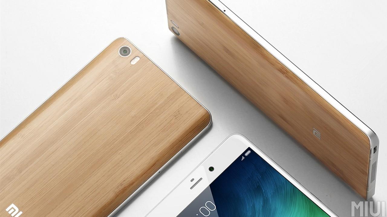 Xiaomi Mi Note Hochwertige Variante Mit Bambusrckseite Vorgestellt 3 16gb Bamboo Edition Giga