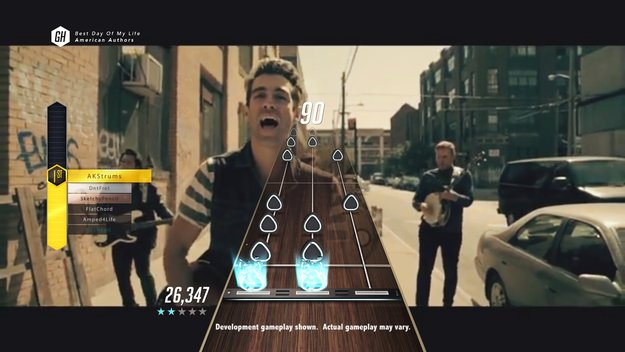 Guitar Hero Live: Weitere Songs unter anderem von Disturbed und Paramore bestätigt
