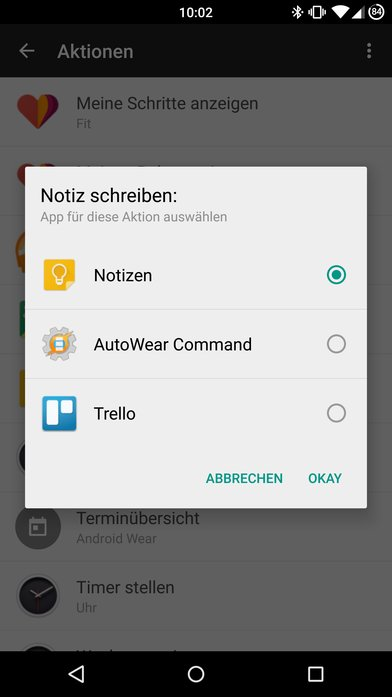 Android-Wear-Android-App-Update-1.1-Aktionen