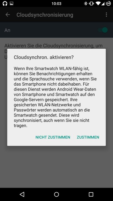 Android-Wear-Android-App-Update-1.1-Cloudsynchronisation