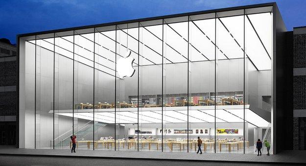 Angela Ahrendts: Schlange stehen vor dem Apple Store gehört der Vergangenheit an